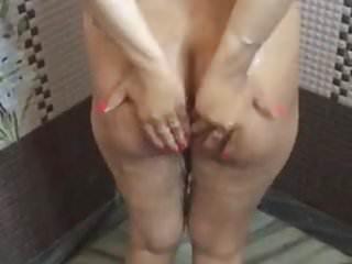 Desi girl having shower