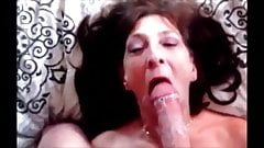 Mature lady hungry for cum suc
