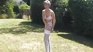 Sara-A Stroll In The Garden