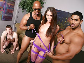 Giselle Leon Interracial Threesome - Cuckold Sessions