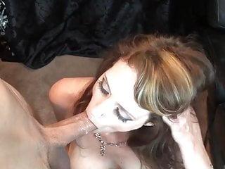 Stunning Brunette MILF Gives Amazing Head