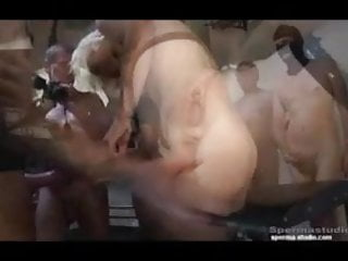 Spermastudio - Steffi gets several facials - P2