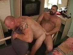 Daddy  takes his pleasure from one of his favorite bottoms