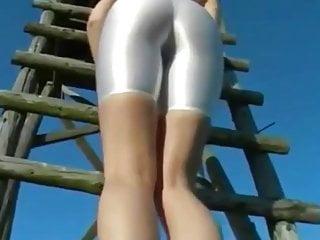 sexy ass in white spandex part 2 hd 790 pt justporn tv