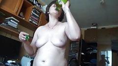 Russian mature Svetlana suck cock and fuck