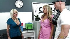 Brazzers - HOT blond nurse Darcy tyler gets her patient off