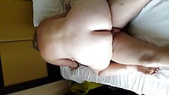 wife riding my mates cock