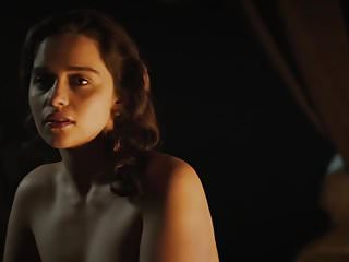 Emilia Clarke -- Nude (Voice from the Stone, 2017)