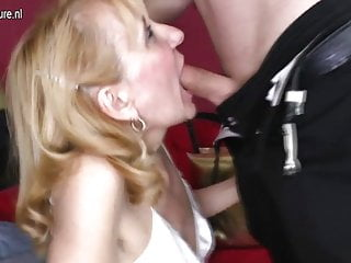 Grandmother gets fucked by her toyboy