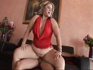 bbw blonde fatty