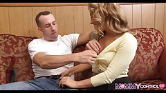 Upscale Rich Blonde Stepmom