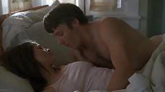 Coed nude in bedroom