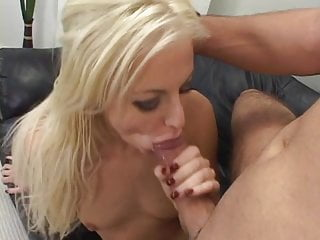 Amateur chick is sucking huge stick
