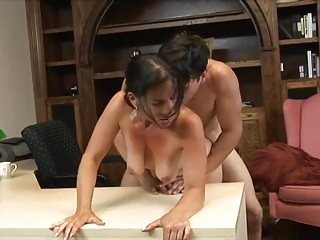 Hot Fuck  Sexy Cougar Milf Younger Lover Office