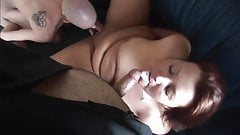 Mature content(BBW threesome)