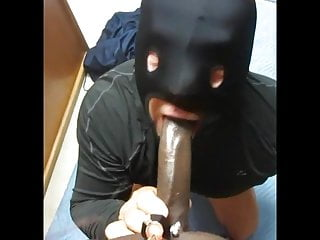 Sucking a bbc masked for the first time pt2