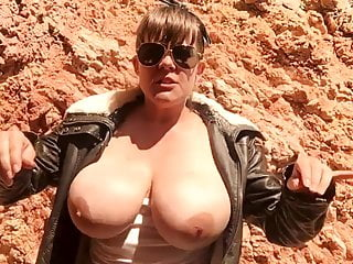 Busty Cougar Hiking Joi