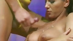 young busty sex on public stage