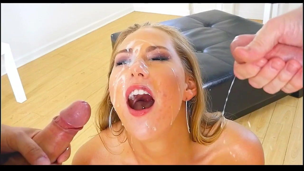 Man discharge skilful blowjob