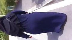 Hijab Bbw arabe ass
