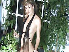 Jen Hilton - Tassle Top Tease