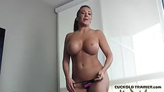 I am going to fuck a real man right in front of you