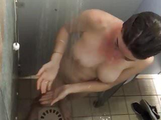 Download video bokep Camping shower big tirs mom 2 Mp4 terbaru