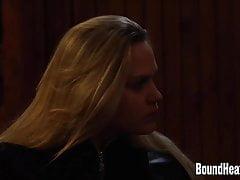Lesbian Huntress Brings Tied Up Girl In Cabin