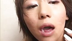 Cock sucking Japanese MILF gets filled with hard dick