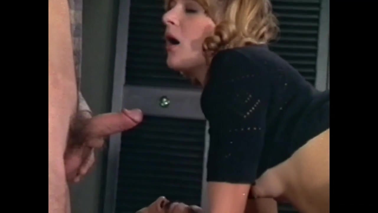 Teen Rebecca Rainbow fucked by two cocks