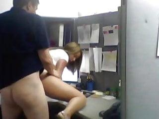 Hidden Cam- Secretaria puta no trabalho