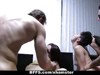 BFFS - Cyber Sluts Get Hacked And Fucked!