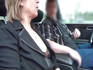 hooker wet in car
