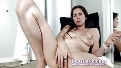 Lelu Love-WEBCAM: BTS Anal Plug Masturbation Custom