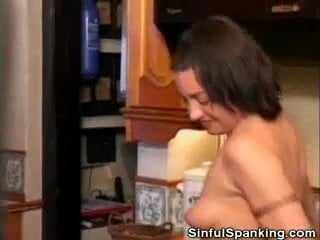 Spanked english mature babe stef