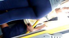 Imagen Loira colegial calca colada 1
