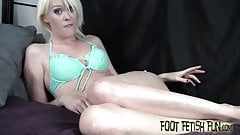 I see the way you look at my sexy feet