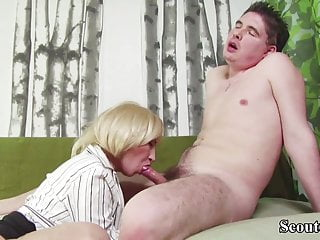 YOUNG BOY CAUGHT STEP MOTHER MASTURBATE AND HELP WITH FUCK