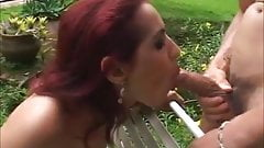 Hot young Latina babe and a Young stud