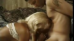 Blonde milf fuccked by younger husband