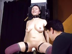 Dominated in chair (2)