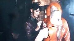 Mistress prepares his whore