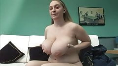 Chubby girl with big boobs show us her masturbation skills