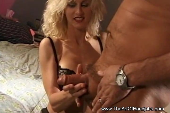 Horny Amateur Cougar Loves To Suck And Jerk Hard Cock