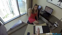 Dirty Flix - Lunch break secretary fuck
