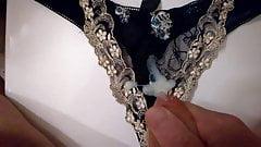 Spunking on MIL's Panties