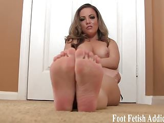 My soft little feet will feel so good on your hard cock