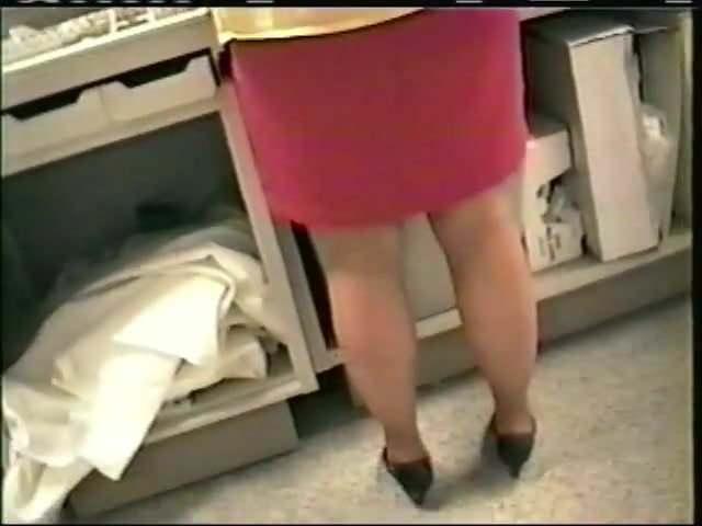 Pantyhose voyeur 024 sears saleslady - 3 1