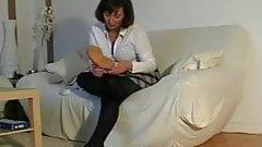 German Girl Sexy Clogs
