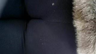 Candid black milf ass